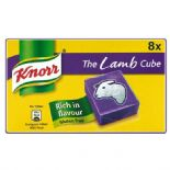 Knorr Lamb 8 Stock Cubes 80g